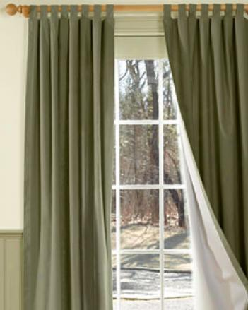 Insulated Tab Curtains 80