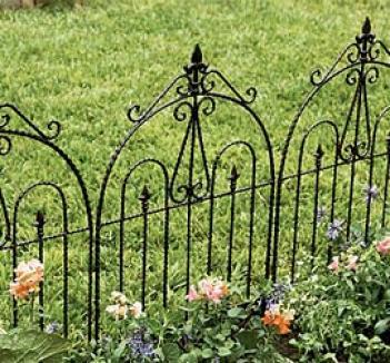 Iron Fence Panel
