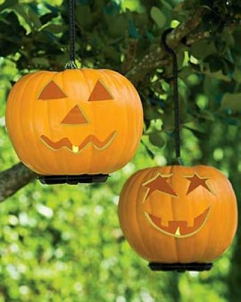 Jack-o'-lamp, Set Of 2