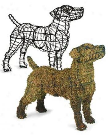 Jack Russell Topiary