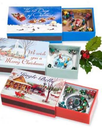 Jolly St Nicholas Melody Box