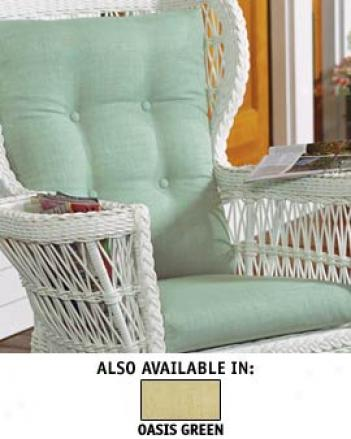 Lake House Reader's Armchzir/rocker Cushion Set