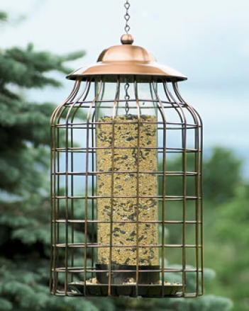 Lantern Cage Birdfeeder