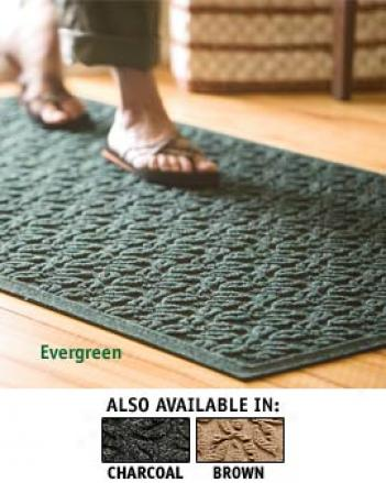 Large Dogwood Leaf Mat, 58-1/4