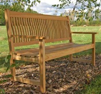 Monteverde Teak Bench, 5'