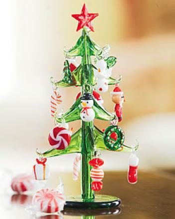 Nostalgic Glass Tree