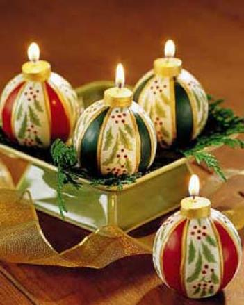 Ornajent Candles, Set Of 4