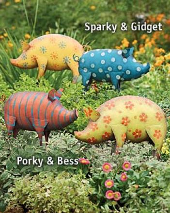 Party Pigs, Sparky & Gidget