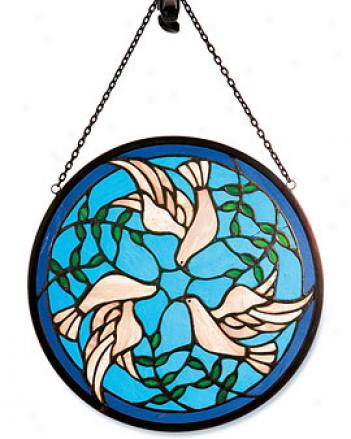 Peace Dove Suncatcher