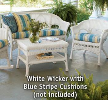 Porch Wicker 3 Piece Set
