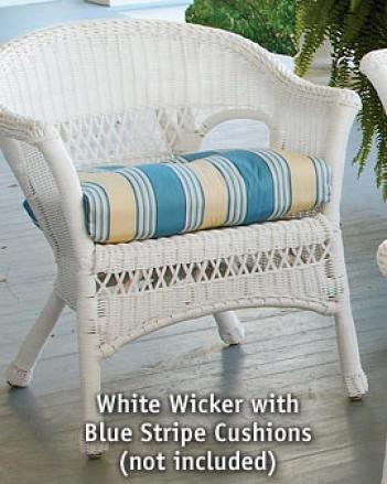 Porch Wicker Armchair