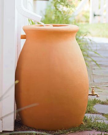 Rainwater Urn, 45 Gallon
