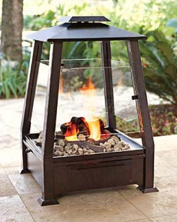 Real Flame Outdoor Fireplace
