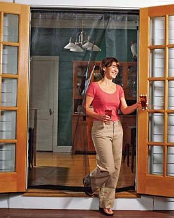 Reversible French Door Screen, 72