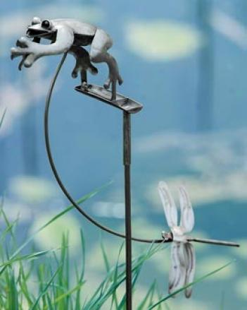 Rocking Frog Sculpture