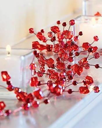 Ruby Sparkle Garland