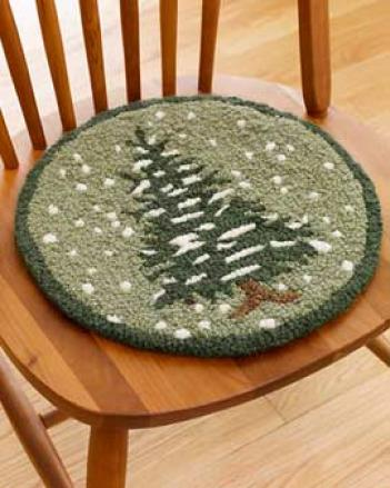 Snowflake Chair Pad