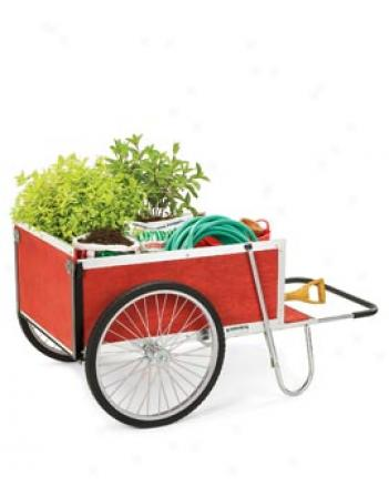 Special Edition Red Gardener???s Supply Cart, Large