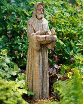 St. Francis Birdfeeder