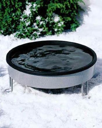 Standing Heated Birdbath