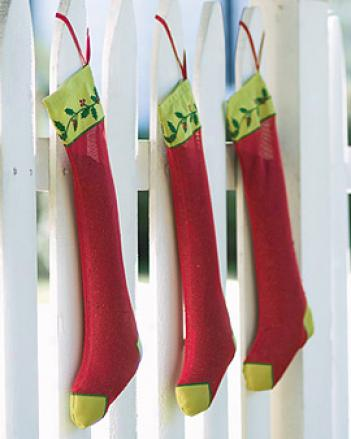 Stocking Finch Feeder