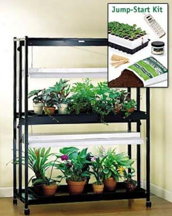 Sunlite 2-tier Garden With Jump-start Kit