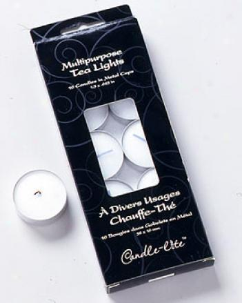 Tea Lights, Set Of 10