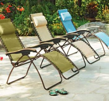 Ultimate Lounger, Mineral Blue