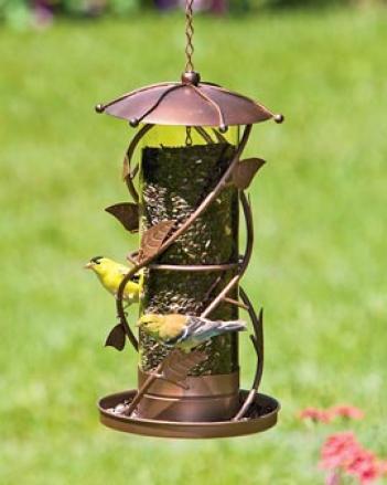 Vine Leaf Birdfeeder