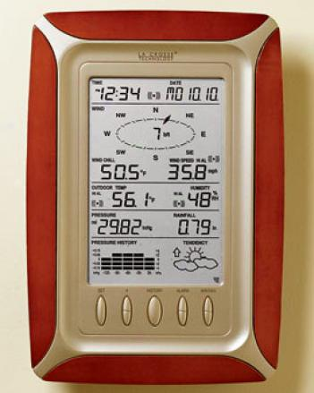 Weather Center In the opinion of Bonus Receiver