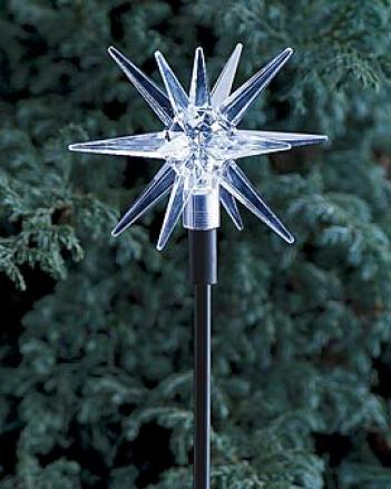 White Solar Star Light
