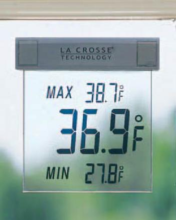Window-stick Thermometer