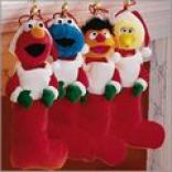 3d Plsuh Sesame Street Stockings Clearance Price $12.98
