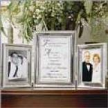 Anniversary Tri-fold Keepsake Photo Frame