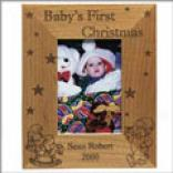 Baby's 1st Christmas Picture Frame