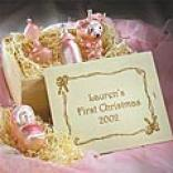Baby's First Christmas Ornaments & Keepsake Crate Sale Price $14.98