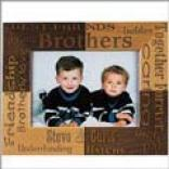 Brothers Wooden Picture Frame