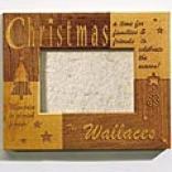 Christmas Wooxen Frame-vertical 5x7