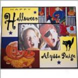 Colorful Halloween Frame-horizontal