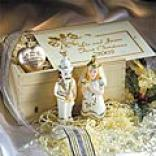 Couple's First Xmas Ornaments & Keepsake Crate