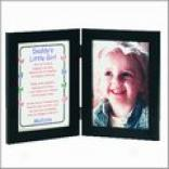 Daddy's Little Girl Print & Frame - 5x7