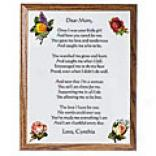 Dear Mom Plaque