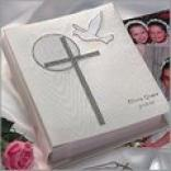 Dove And Cross Photo Album