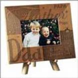 Father Wooden Frame