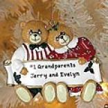 Grandpareny Bear Couple Ornament