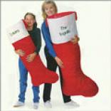 Jumbo Plush Santa Stocking