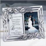 Love Is Patient Wedding Frame