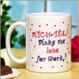Make Me Late Coffee Mug