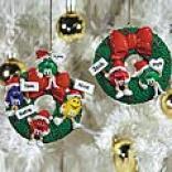 M&m Family Ornament