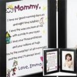 Mommy Keepsake Print And Frame